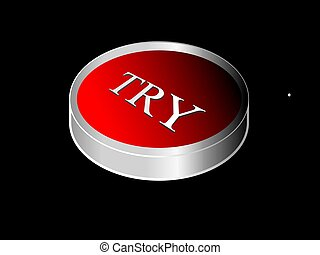 Try button, illustration