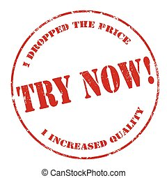 Try Now-stamp