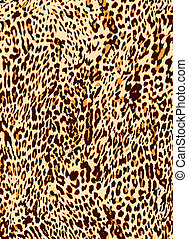 tryk, leopard, dyr, baggrund