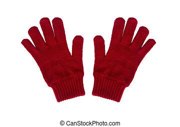 trykotowy, rękawiczki