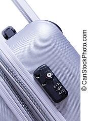 TSA security lock with dual key-combination