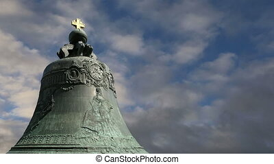 Tsar Bell, Moscow Kremlin, Russia -- also known as the...