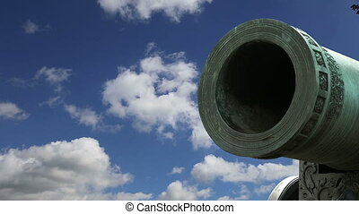 Tsar Cannon, Moscow Kremlin, Russia -- is a large, 5.94...