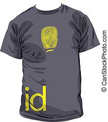 Tshirt id illustration