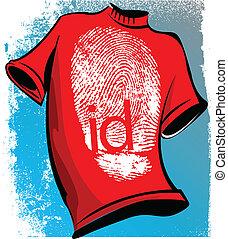 tshirt, identificación