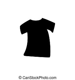 tshirt silhouette vector design template illustration