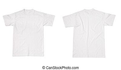 tshirt, t, sagoma, camicia