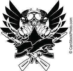 tshirt, vector, diseño, señal