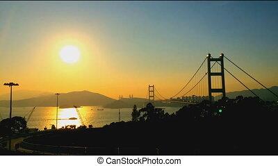 Tsing Ma Bridge is a bridge in Hong