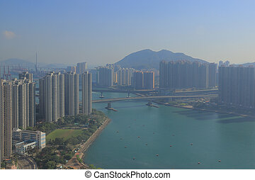 Tsuen Wan in Hong Kong