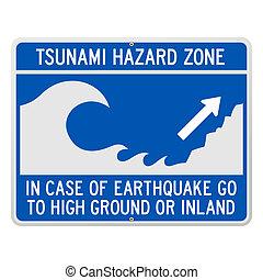 tsunami, signe danger