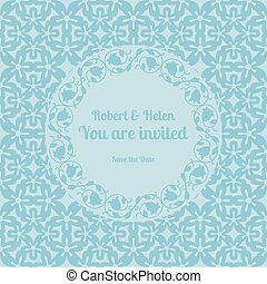 tu, é, convidado, casório, cartão, modelo