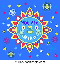 tu, é, meu, sol