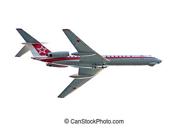 Tu-134 is a twin-engined airliner