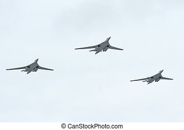 Tu-160 - tu-160 is a supersonic, variable-sweep wing heavy...