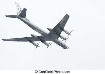 Tu-95 - tu-95 is a large, four-engine turboprop-powered...