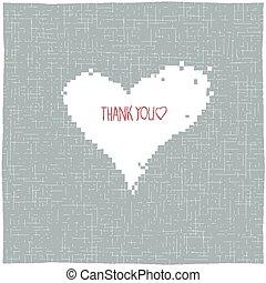 tu, agradecer, cartão