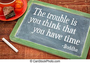 tu, ter, não, tempo, lembrete