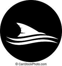 tubarão, ícone