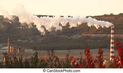 Tube emits toxic fumes