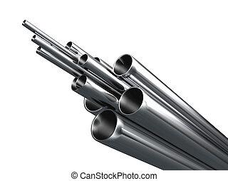 tube métal
