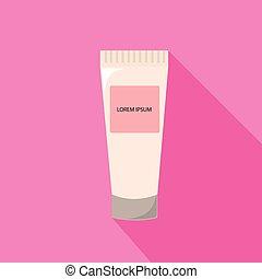 Tube Of Cream from beauty salon vector illustration - Tube...