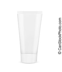 Tube of cream or gel. Mock-up. Vector icon. EPS10 vector