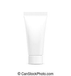 Tube of cream packaging - Make up. Tube of cream or gel...