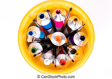 tube of paint