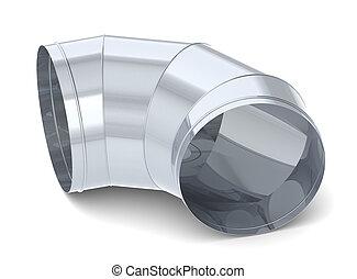 Tube - A simple vent tube. Steel