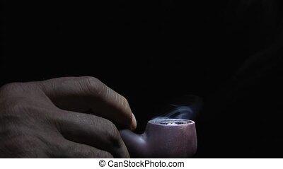 Tube - smoking health harm.