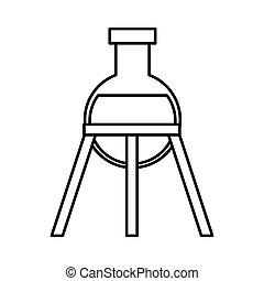 tube test glass icon