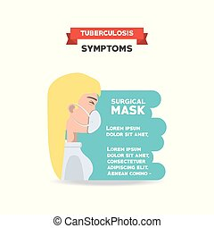 Tubereculosis concept design - Tuberculosis infographic...