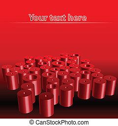tubes, gabarit, résumé, fond, illustration, vecteur