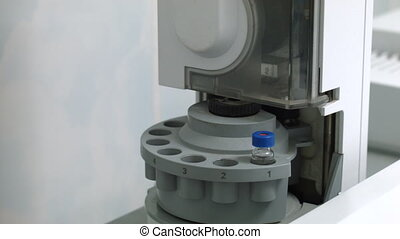 Tubes prepared in lab centrifuge machine