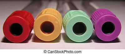 tubes, sanguine