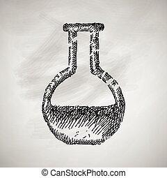 tubo, ícone