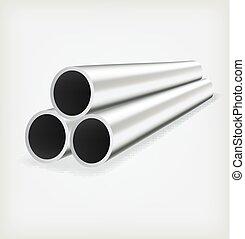 tubo, metallo