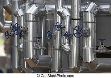 tubos de metal, 4