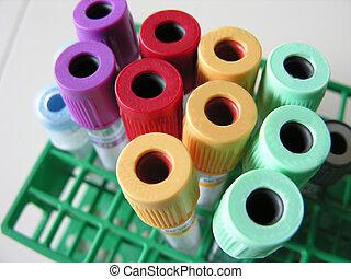 tubos sangue