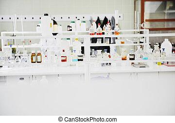 tubos teste, em, laboratório