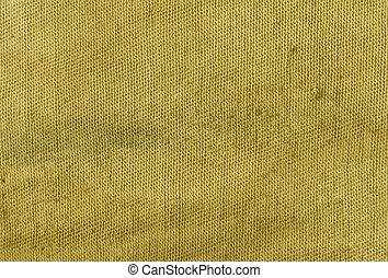 tuch, dreckige , gelber , texture.