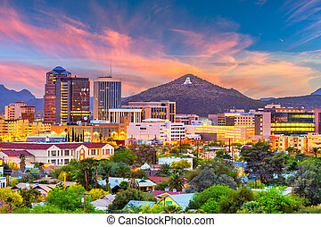 tucson, arizona, eua, skyline