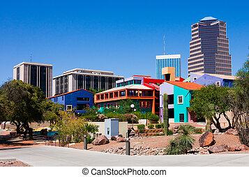 Tucson Arizona - Buildings in downtown Tucson Arizona