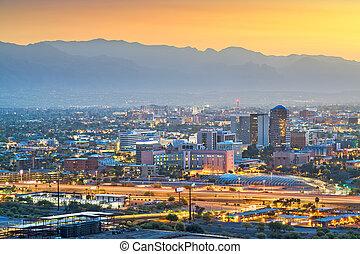 tucson , cityscape , arizona , η π α