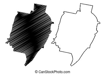 Tucuman City (Argentine Republic, Tucuman Province) map ...