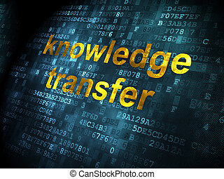 tudás, átutalás, háttér, digitális, oktatás, concept:
