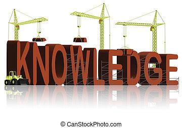 tudás, épület