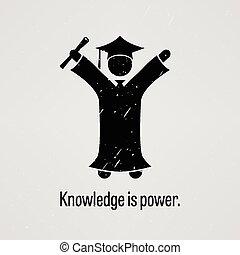 tudás, erő