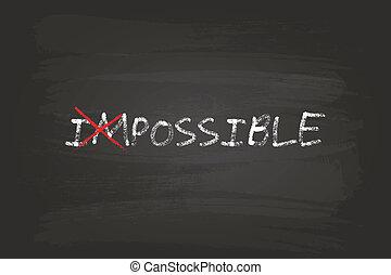 tudo, conceito, possível